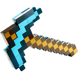 Minecraft Transforming Diamond Sword/Pickaxe Gadgets