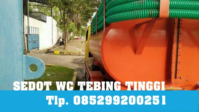 Sedot WC Kota Tebing Tinggi Telpon 082187420809
