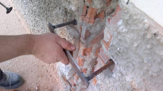 Innovaci n en construcci n reparaci n de fisuras y - Reparar grietas pared ...