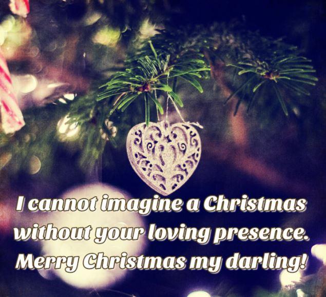 Christmas Love Message Image