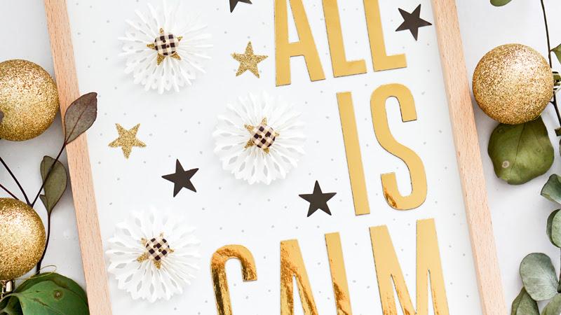 Crate Paper Design Team : All Is Calm