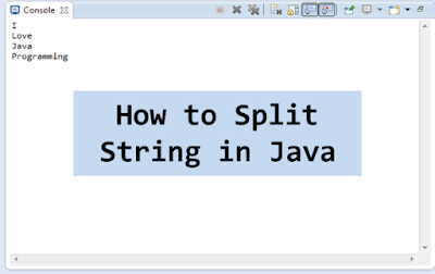 How to Split String based on delimiter in Java? Example Tutorial