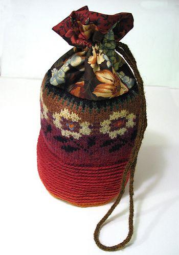 torebki szydelkiem i na drutach