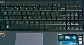 Keyboard Laptop Asus K55DR