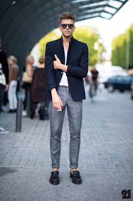Pantalones rectos hombre