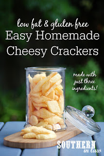 Easy Homemade Cheese Crackers Recipe Gluten Free