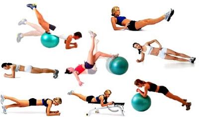 Ejercicios músculos abdominales mujeres