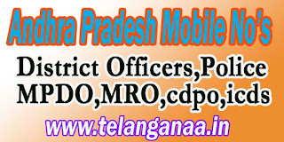 West Godavari District MPDO Phone Numbers/Mobile Numbers Andhra Pradesh State