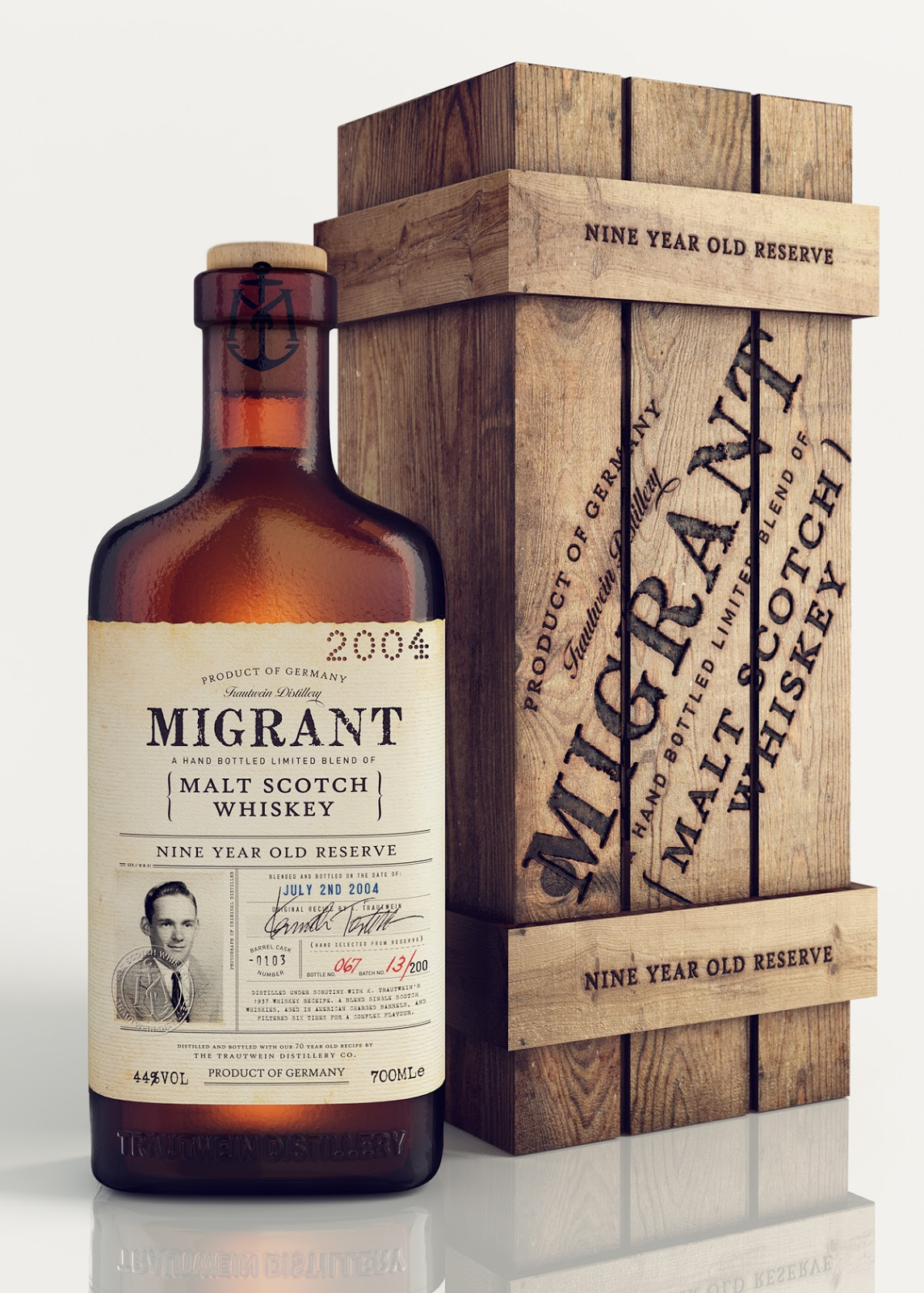Bad Company 3 Migrant Whiskey On Packaging Of The World - Creative