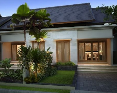 Rumah Minimalis Satu Lantai Elegan dan Inspiratif