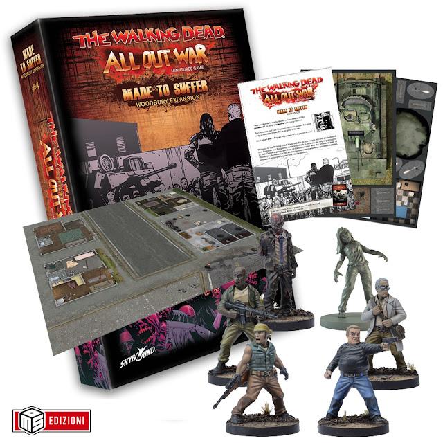 "The Walking Dead All Out War: box ""Nati per soffrire"""