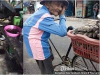 Mbah Ratim, Meski Sedang Sakit, Kakek Renta ini Tetap Berjualan Demi Menyambung Hidup