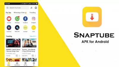 SnapTube Mod pro Apk Download for Android Cracked