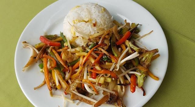 Restaurante vegetariano Rico y Sanito
