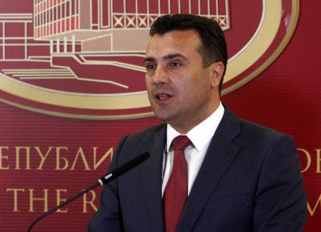 Για «Μακεδονία» και «πολίτες της Μακεδονίας» επιμένει να κάνει λόγο ο Ζάεφ
