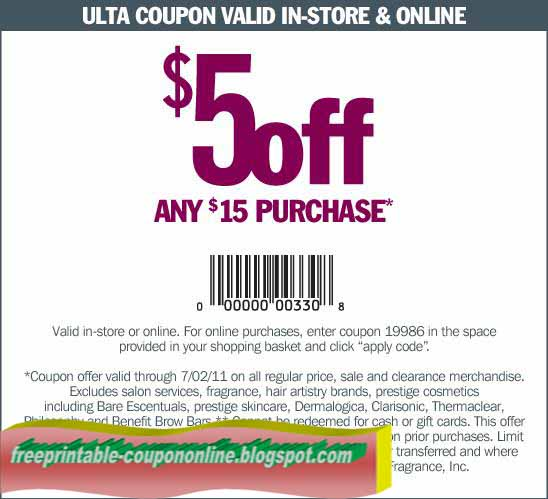 Ulta coupon code 2018