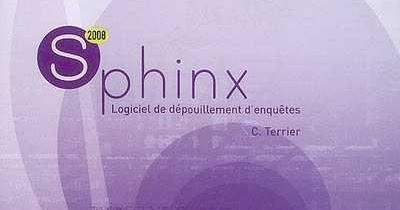 logiciel sphinx v5 gratuit