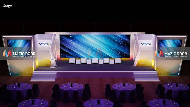 NPCI Conference Setup Design 08