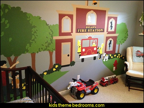 To the Rescue - Paint-by-Number Wall murals