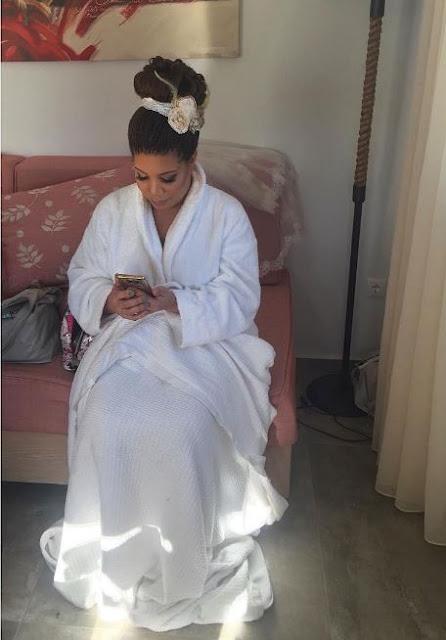 Monalisa Chindas Greek Wedding%2B%25281%2529 - See Beautiful Photos From Nigerian Weddings