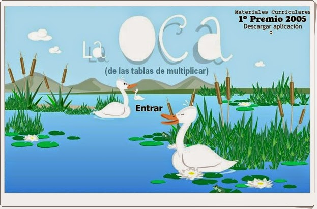 http://juegoseducativosonlinegratis.blogspot.com/2012/08/la-oca-de-las-tablas-de-multiplicar.html