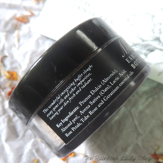 Ma Earth Botanical Rose Facial Scrub Ingredients