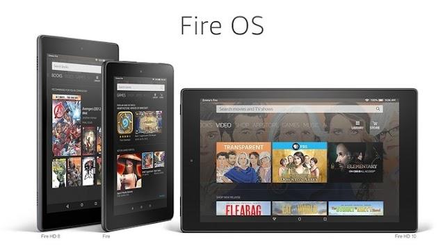 Amazon anuncia o Fire OS 6 baseado no Android 7.1.2 Nougat