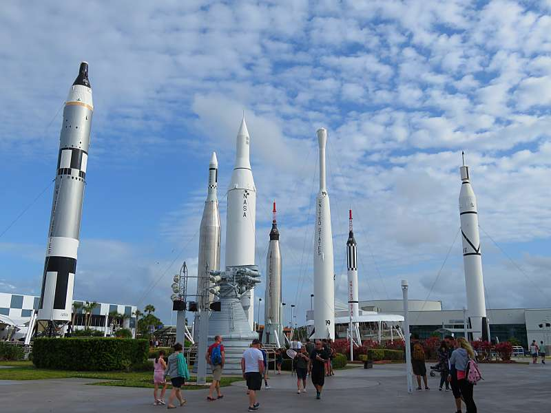 The Rocket Garden, Kennedy Space Center