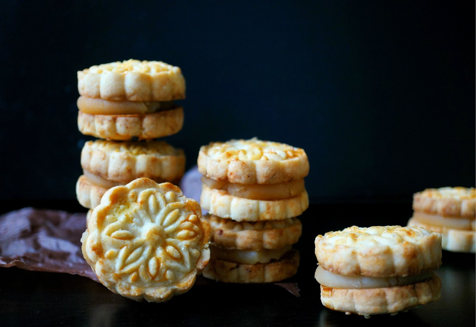Miss Hangrypants Lotus Seed And Salted Egg Yolk Cookie Sandwich