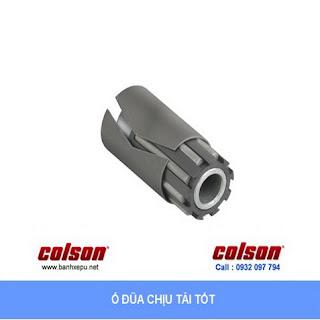 Bánh xe cao su đặc xoay phi 150 Colson sử dụng ổ đũa chịu lực 270kg | 4-6109-459 www.banhxepu.net