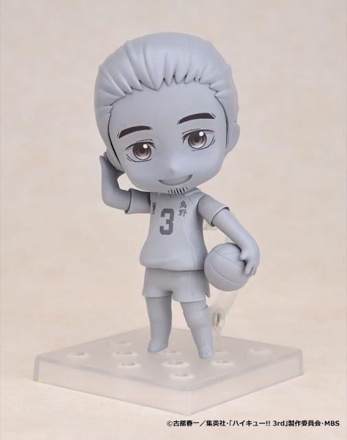 "Mostrado el prototipo del Nendoroid Asahi Azumane de ""Haikyuu!!"" - Good Smile Company"