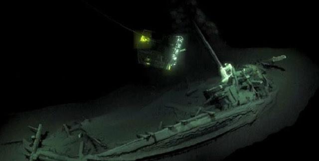 اكتشاف أقدم حطام سليم لسفينة في العالم على الإطلاق.