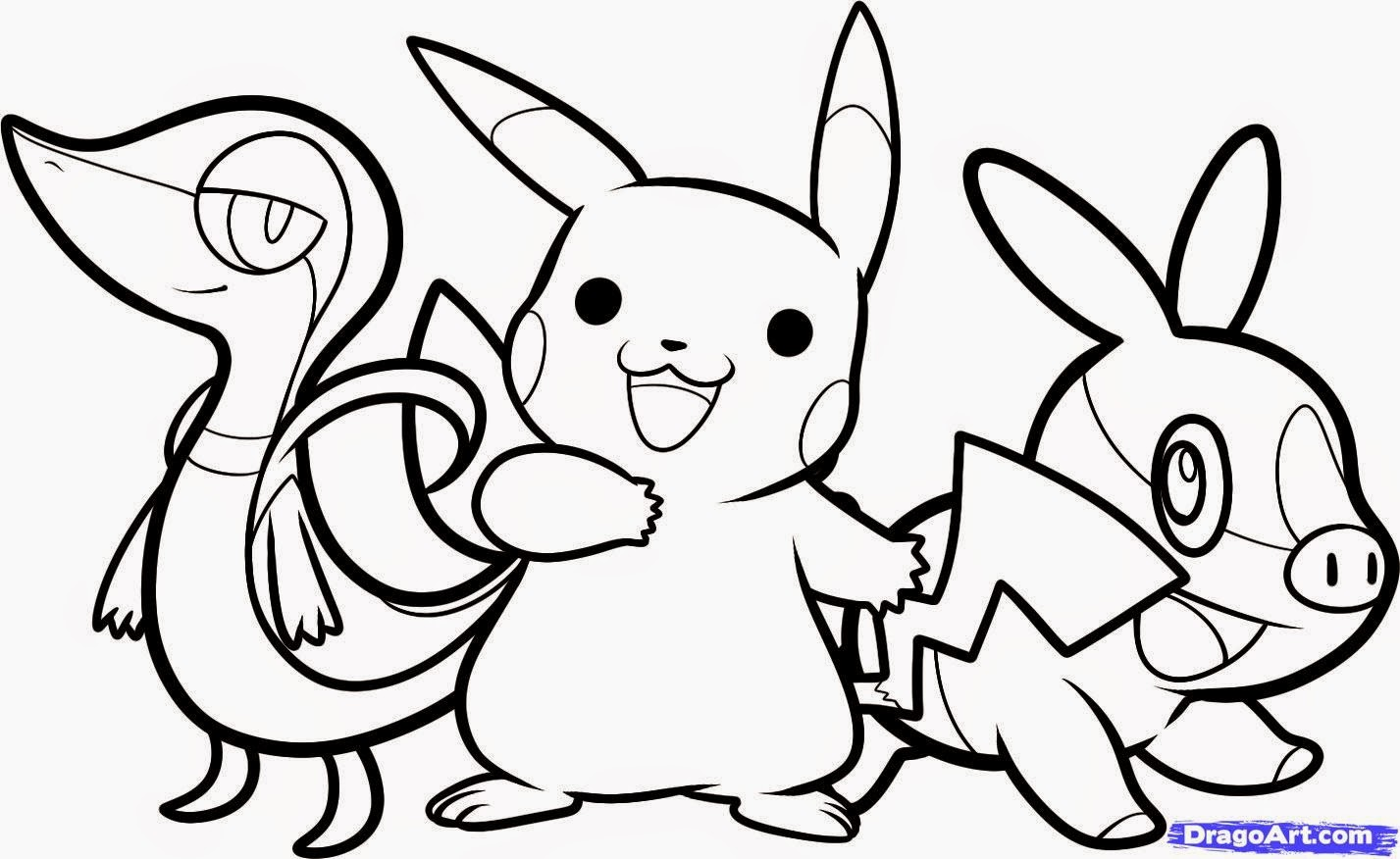 coloriage pokemon imprimer gratuit