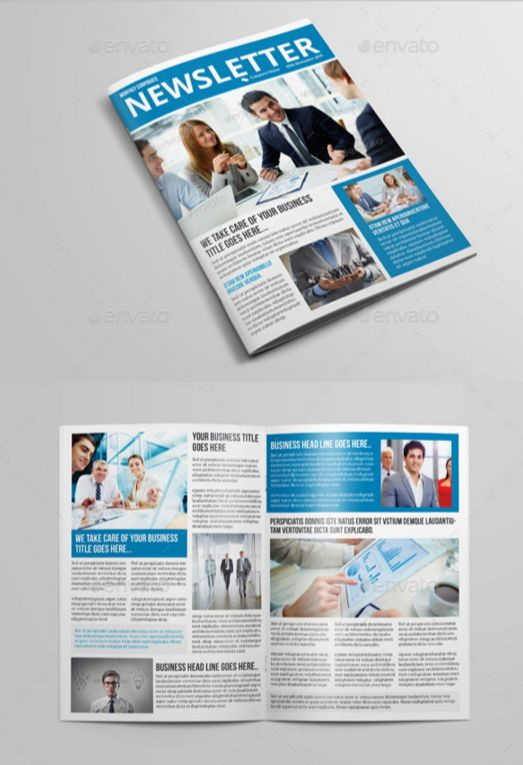 22. Business Newsletter Indesign Template