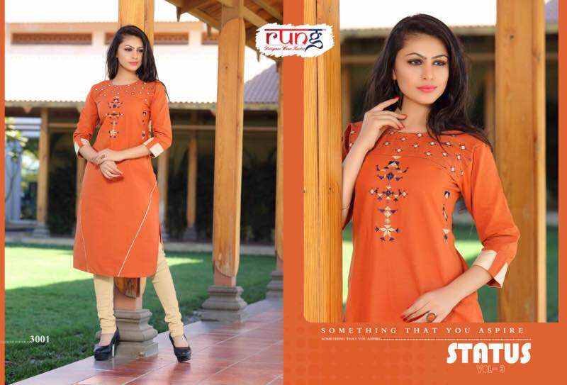 Status 3 – Buy Designer Heavy Cotton Printed Kurti – Wholesale