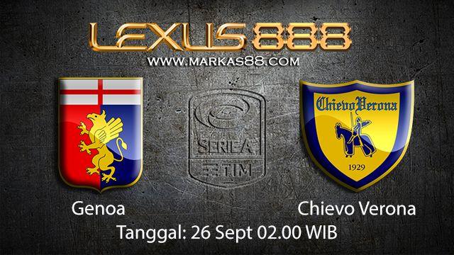 Prediksi Bola Jitu Genoa vs Chievo 27 September 2018 ( Italian Serie A )