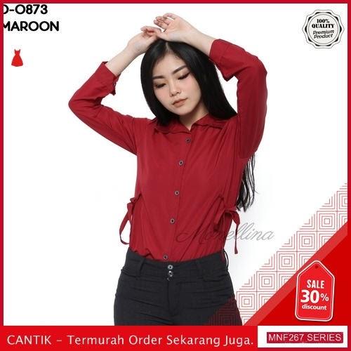 MNF267A96 Atasan D Wanita 0873 Kerja Kemeja Baju 2019 BMGShop