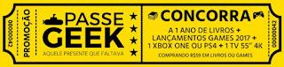 Cadastrar Promoção Submarino 2016 2017 Passe Geek