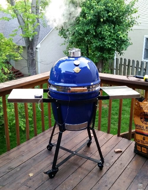 Grill dome, kamado grill, ceramic grill, BGE,