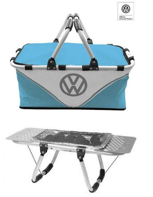 VW BBQ Hamper Instant Grill