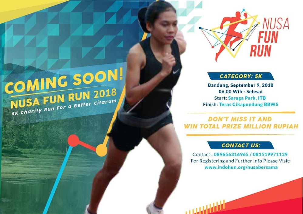 Nusa Fun Run • 2018