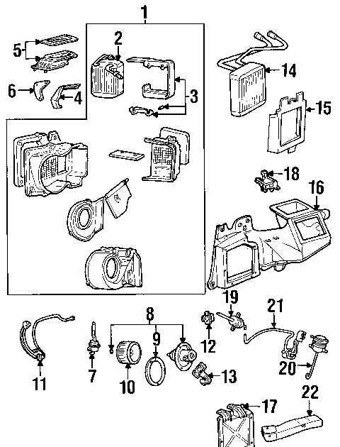 Component Diagrams Ford F450 2006 Super Duty Evaporator