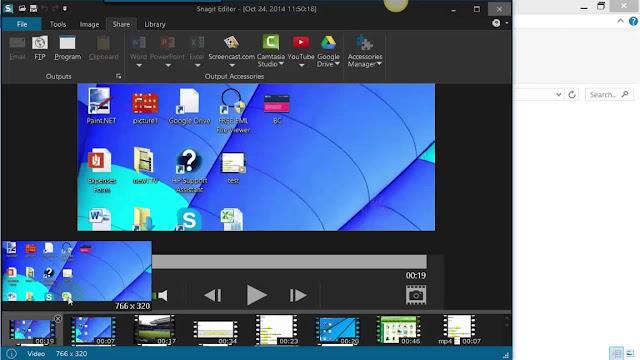 افضل برنامج تصوير الشاشة للكمبيوتر عربي وسهل جدا افضل اصدار snagit