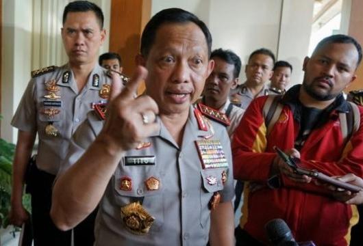 UU Antiterorisme Sah, Kapolri Akan Seret JAD dan JI ke Pengadilan