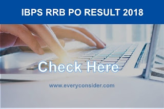 RRB Po Result 2018
