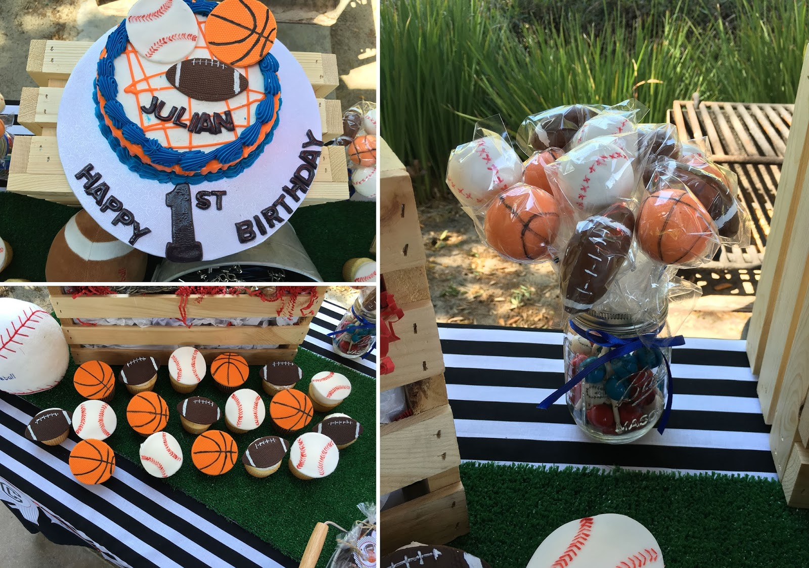 The Sugar Bee Bungalow Party Bee Client Feature Julians All - All star birthday cake