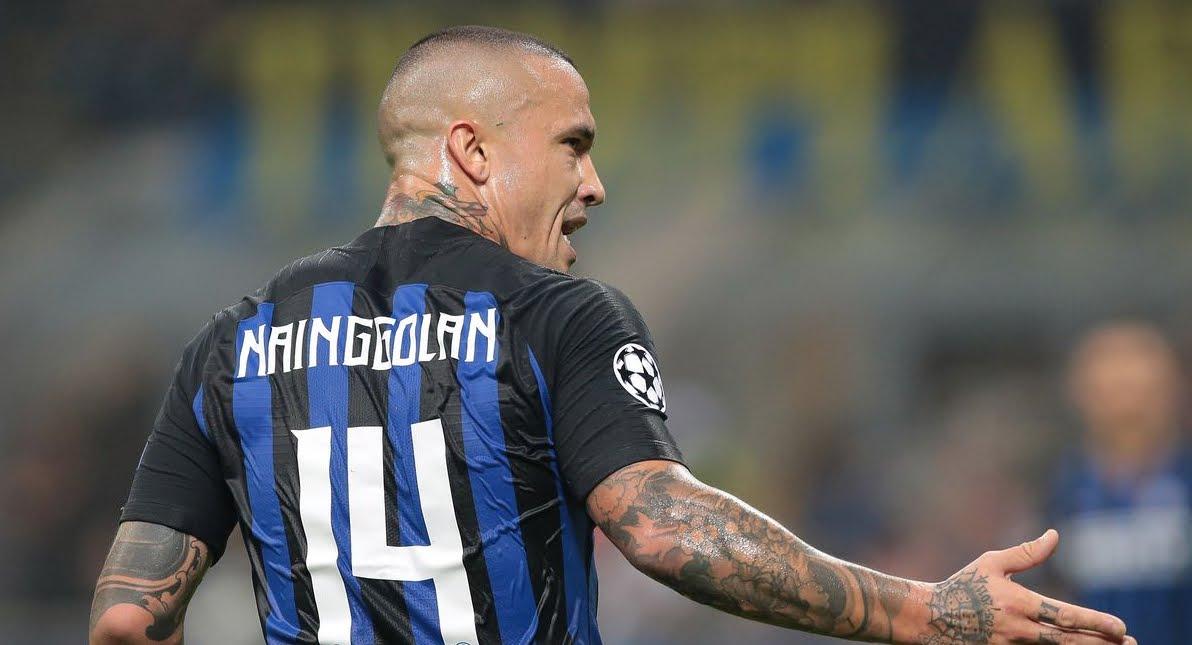 L'Inter sospende Nainggolan, salterà la sfida Inter-Napoli