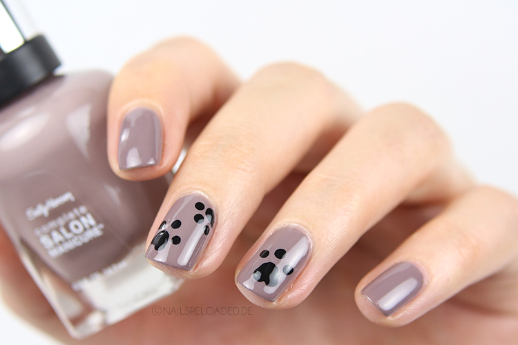 [Nageldesign] Katzen - Nails Reloaded By Naileni - Mein Blog U00fcber Nagellack Und Nageldesign