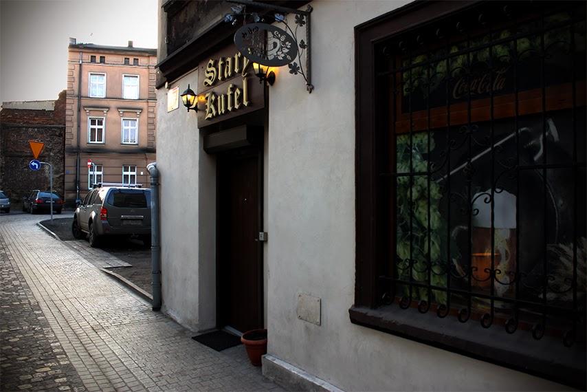 Stary Kufel Gliwice - wejście
