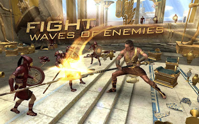 Screenshot GamePlay Gods Of Egypt For Android